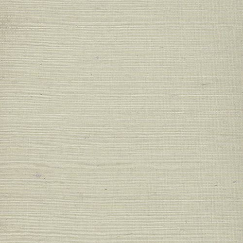 York Wallcoverings Plain Grass White Wallpaper- Sample Swatch Only