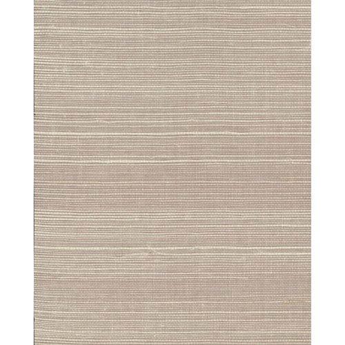 Magnolia Home Plain Grass Gray and Beige Wallpaper