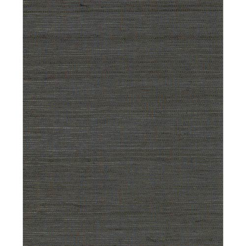 Magnolia Home Grass Gray and Black Wallpaper- SAMPLE SWATCH ONLY