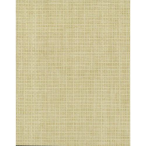 Grasscloth II Woven Crosshatch Beige Wallpaper