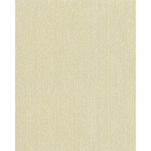 York Wallcoverings Grasscloth II Vertical Silk White Wallpaper - SAMPLE SWATCH ONLY