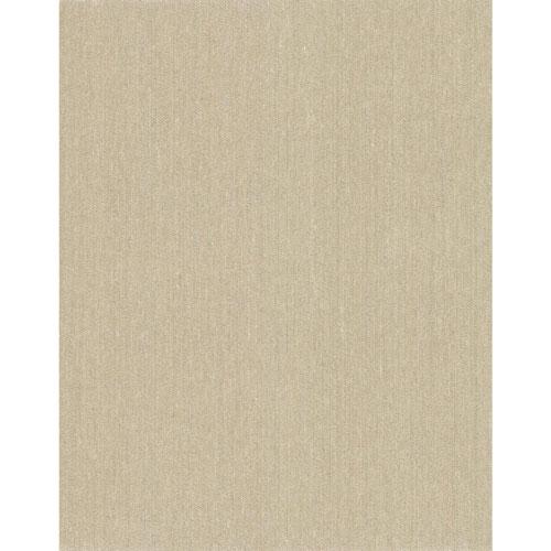 Grasscloth II Vertical Silk White Wallpaper