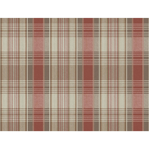 Snapshots Red and Black Plaid Wallpaper - SAMPLE SWATCH ONLY