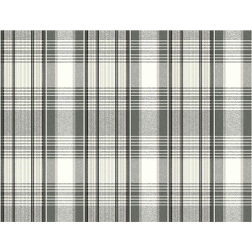 Snapshots Black Plaid Wallpaper - SAMPLE SWATCH ONLY