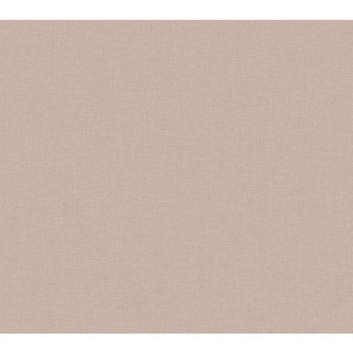 York Wallcoverings Rhapsody Lilac Classic Linen Wallpaper: Sample Swatch Only