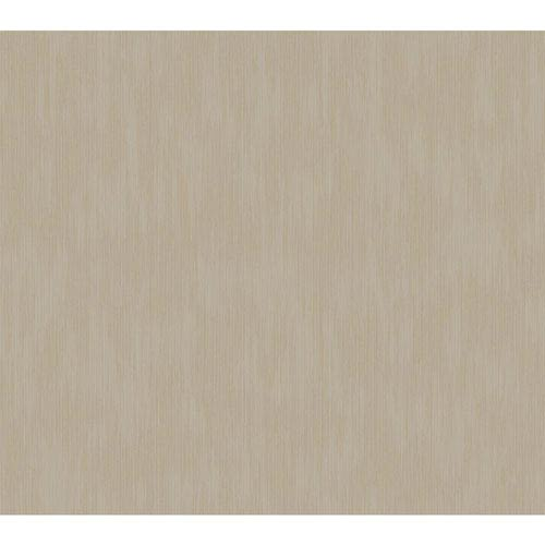 York Wallcoverings Rhapsody Silver and Bronze Regal Damask Texture Wallpaper: Sample Swatch Only