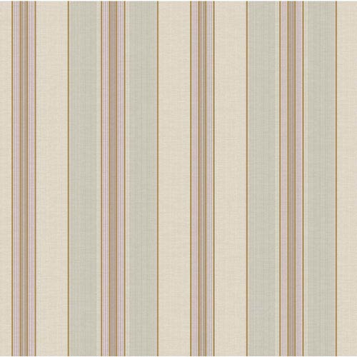 York Wallcoverings Waverly Classics Beige, Gray-Green, Caramel, Taupe and Wisteria Wallpaper