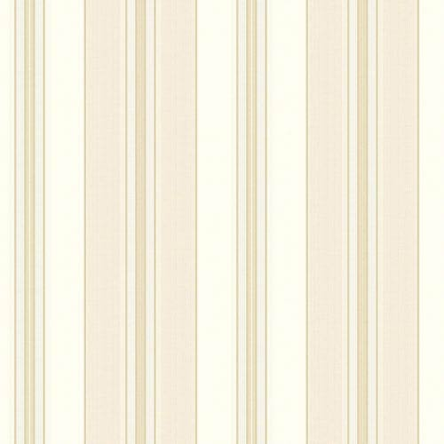 York Wallcoverings Waverly Classics Eggshell, Beige, Pale Gray and Taupe Wallpaper: Sample Swatch Only