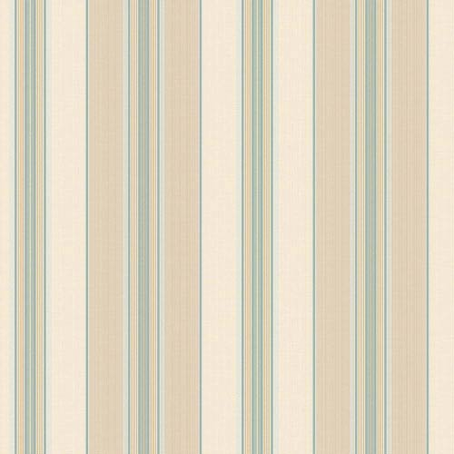 York Wallcoverings Waverly Classics Beige, Tan, Aqua, Teal, Amber and White Wallpaper
