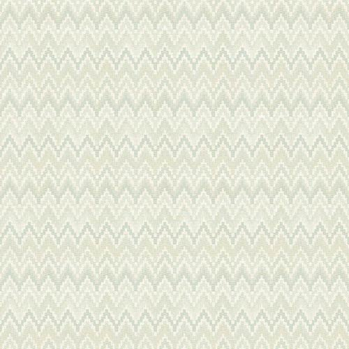 York Wallcoverings Waverly Classics Pale Gray, Green, Aqua and Cream Wallpaper
