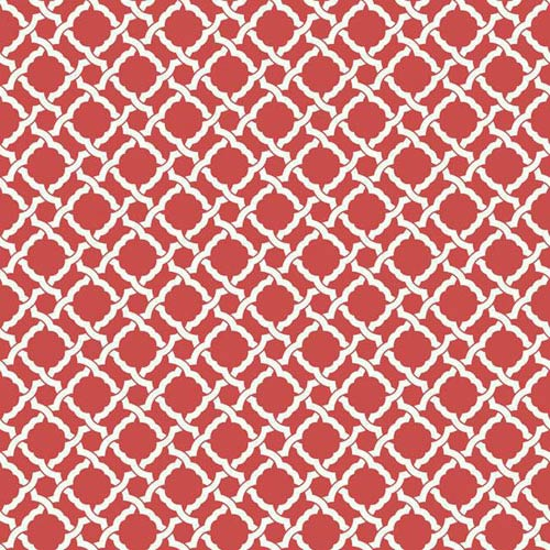 York Wallcoverings Waverly Classics I Kent Crossing Removable Wallpaper Red Wallpaper- Sample Swatch Only