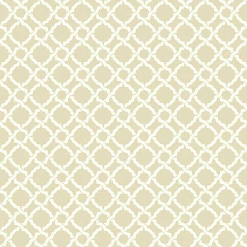 Waverly Classics I Kent Crossing Removable Wallpaper Beige Wallpaper- Sample Swatch Only