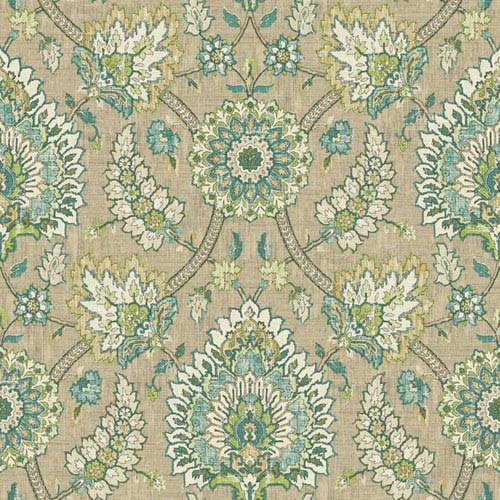 Waverly Classics I Clifton Hall Removable Wallpaper Brown Wallpaper- Sample Swatch Only