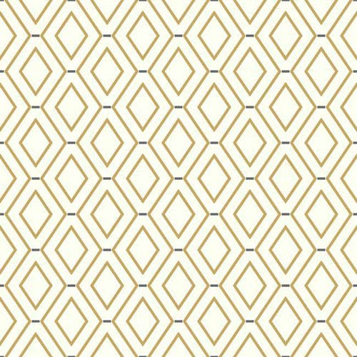 Waverly Classics I Diamond Duo Removable Brown Wallpaper
