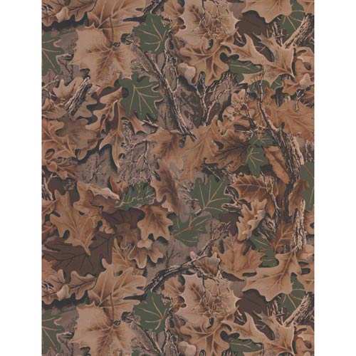 York Wallcoverings Lake Forest Lodge Realtree Camouflage Wallpaper: Sample Swatch Only
