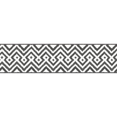 Waverly Kids White and Black Painted Meadow Border