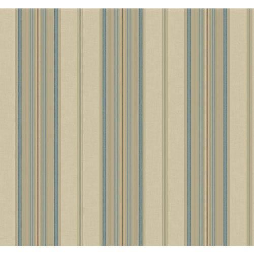 Williamsburg II Multicolor Stripe Wallpaper