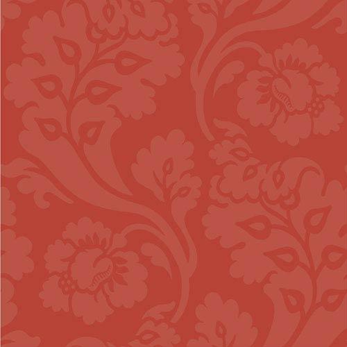 Williamsburg Red Pembroke Wallpaper