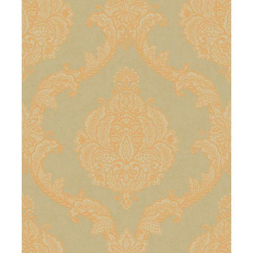 Mixed Metals Chantilly Lace Wallpaper- Sample Swatch Only