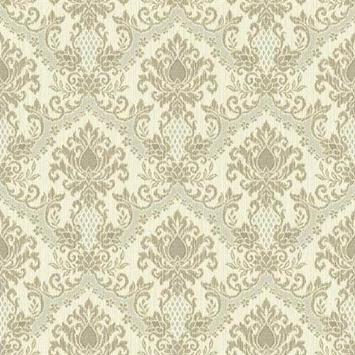 Waverly Small Prints Bedazzled Cream, Light Earth Brown and Pale Grey Wallpaper