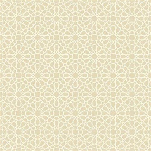 Waverly Small Prints Starry Eyed Ecru and Cream Wallpaper