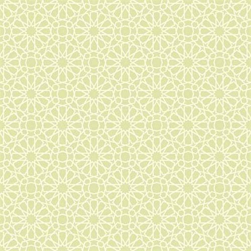 Waverly Small Prints Starry Eyed Pale Celery Green and Cream Wallpaper