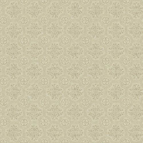 York Wallcoverings Country Keepsakes Taupe And Brown Small Tiles Wallpaper