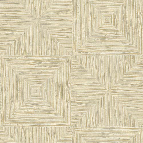 York Wallcoverings Textured Cream Wallpaper: Sample Swatch Only
