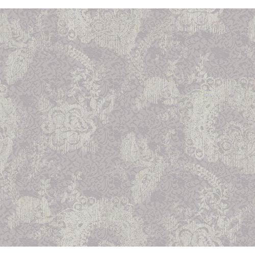 York Wallcoverings Voyage Jacobean Wallpaper: Sample Only