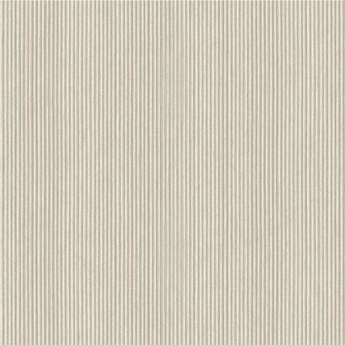 York Wallcoverings Voyage Pleated Texture Cream and Gray Wallpaper: Sample Only