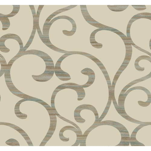 Dazzling Dimensions Dazzling Coil Wallpaper- Sample Swatch Only