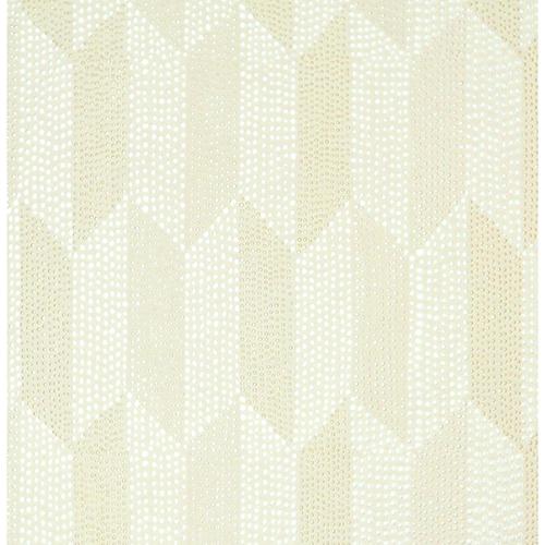 York Wallcoverings Mid Century Cream Metallic Wallpaper