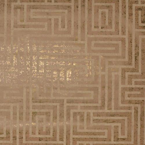 Mid Century Natural Cork Metallic Wallpaper - SAMPLE SWATCH ONLY