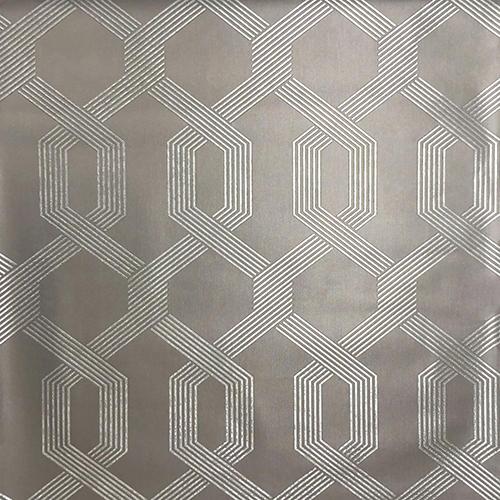 Mid Century Gray and Glint Wallpaper