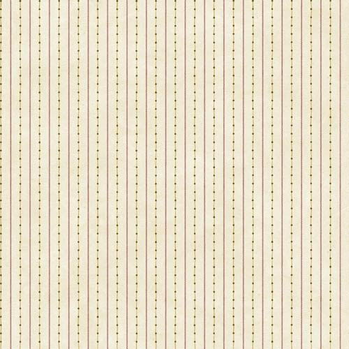 Welcome Home Yellow Beige, Barn Red, Butterscotch and Olive Green Dots with Ticking Stripe Wallpaper: Sample Swatch Only