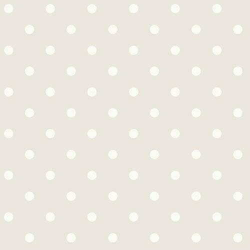 York Wallcoverings Ashford Black, White Gray Fog and Cream Wallpaper: Sample Swatch Only