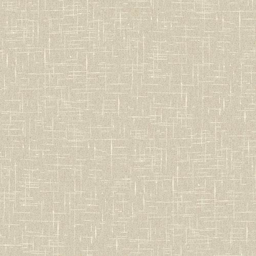 York Wallcoverings Stockbridge Square Beige Linen Texture Wallpaper: Sample Swatch Only