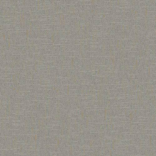 York Wallcoverings Stockbridge Square Grey Linen Texture Wallpaper: Sample Swatch Only