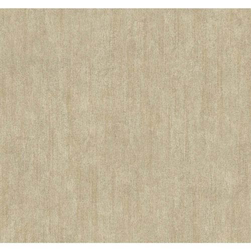 York Wallcoverings Stockbridge Square Cream Crackle Texture Wallpaper: Sample Swatch Only