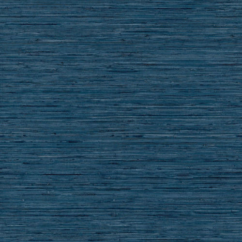 Blue Grass cloth Peel and Stick Wallpaper-SAMPLE SWATCH ONLY