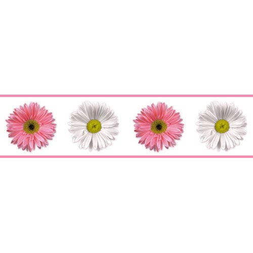 Roommates Decor Flower Power Peel and Stick Border