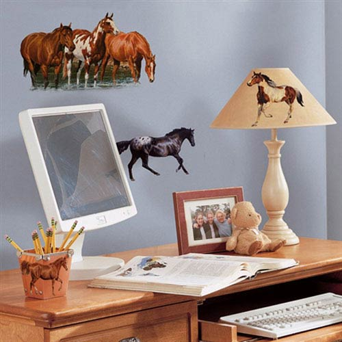 Wild Horses Peel and Stick Wall Decals