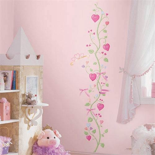 Fairy Princess Peel and Stick Growth Chart