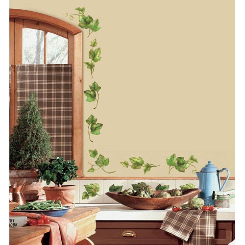 Evergreen Ivy Peel and Stick Wall Decals