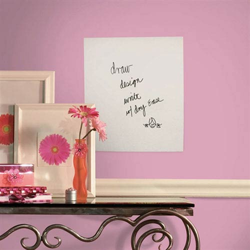 Dry Erase Sheet Peel and Stick Wall Decal (17.5-Inch x 24-Inch)
