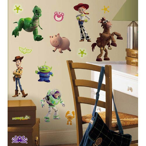 Roommates Decor Toy Story 3 Peel and Stick Wall Decals