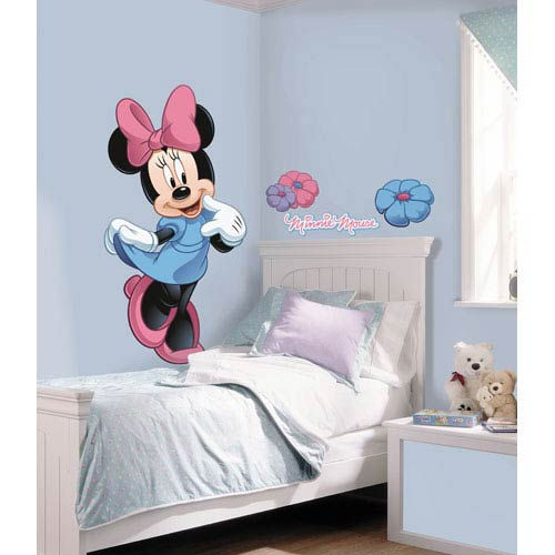Mickey and Friends - Minnie Mouse Peel and Stick Giant Wall Decal