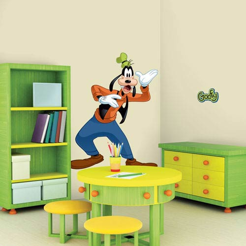 Roommates Decor Mickey and Friends - Goofy Peel and Stick Giant Wall Decal