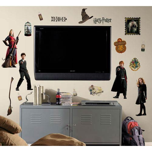 Roommates Decor Harry Potter Peel and Stick Wall Decals