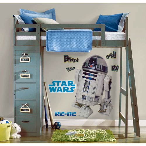 Roommates Decor Star Wars Classic R2D2 Peel and Stick Giant Wall Decal